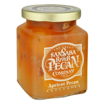 The Great San Saba River Pecan Company Apricot Pecan Preserves