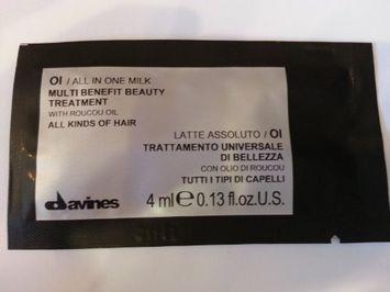 Davines OI Multi Benefit Beauty Treatment All In One Milk Sachet Kit for Unisex