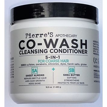 Pierre's Apothecary CO-WASH Cleansing Conditioner 5-in-1 For Coarse Hair 16.9 oz