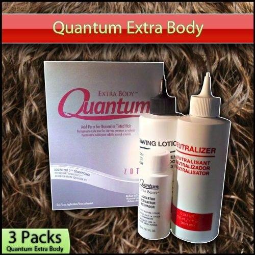 Quantum - Extra Body Acid Perm 3 Pack