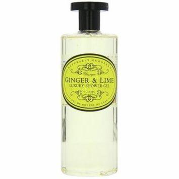 Naturally European Ginger & Lime Luxury Shower Gel 500ml