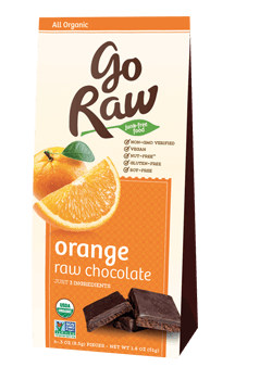 Go Raw Super Orange raw choclates