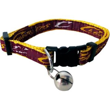 Pets First NBA Cleveland Cavaliers Cat Collar