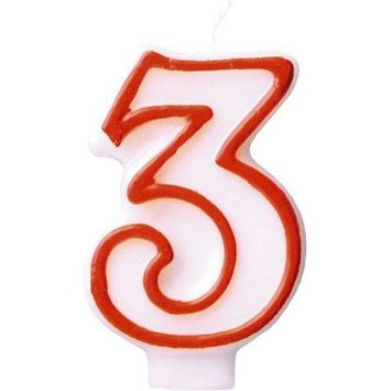 American Greetings Numerical Candles