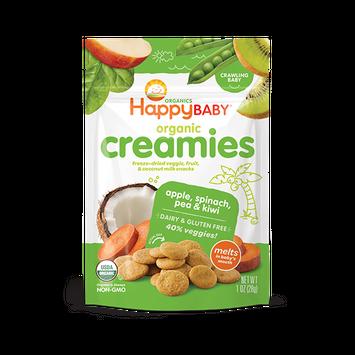 Happy Baby® Organics Coconut Creamies Apple, Spinach, Pea & Kiwi