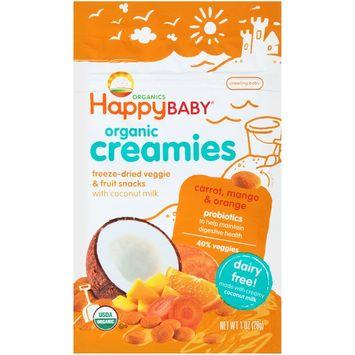 Happy Baby® Organics Coconut Creamies Carrot, Mango & Orange