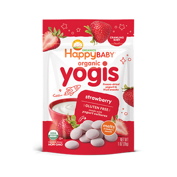 Happy Baby® Organics Strawberry Yogis