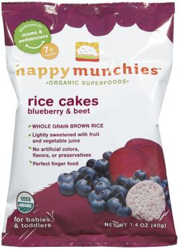 Happy Baby happy munchies Rice Cakes Blueberry & Beet