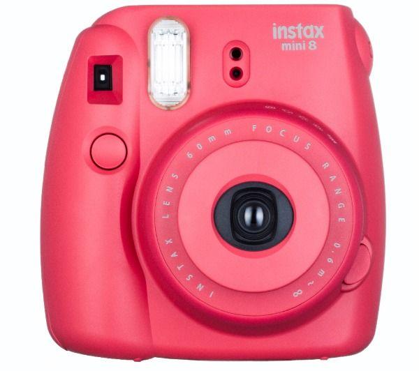 Fujifilm Instax Mini 8 Instant Camera - Raspberry