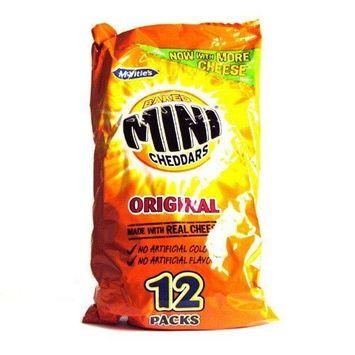 McVities Mini Cheddars 12 Pack 322g