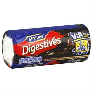 Mcvities Chocolate Rollwrap Digestive Crackers 10.5 Oz Pack Of 24