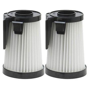 Felji Washable HEPA Vacuum Filters for Eureka DCF-10, DCF-14, Part # 62396 2 Pack
