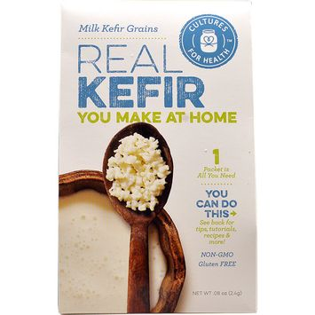 Cultures For Health Real Kefir Milk Kefir Grains Starter Culture -- 1 Packet