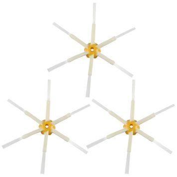 Felji 3 Pack 6-Armed Side Brushes iRobot Roomba 550 560 570 630 650 760 770