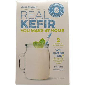 Cultures For Health Real Kefir Starter Culture -- 2 Packets