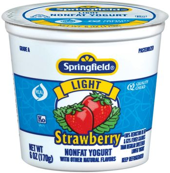 Springfield Light Strawberry Yogurt