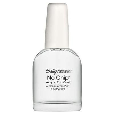 Sally Hansen No Chip Acrylic Top Coat 0.45 Ounce (13ml) (6 Pack)