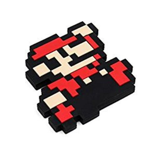 Silicone Teether - Bumkin - Nintendo Mario Pixel New THR-NT11