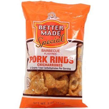 Better Made barbecue flavored pork rinds, chicharrones, 1.5-oz. bag
