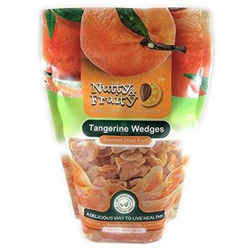 Nutty & Fruity Dried Tangerine Wedges 2 20 oz Bags