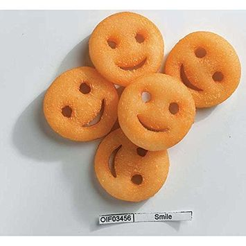 McCain Ore Ida Smiles Fun Shaped Mashed Potato, 4 Pound -- 6 per case.