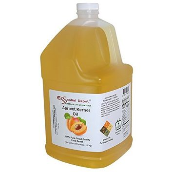 Apricot Kernel Oil - 1 Gallon - Food Safe