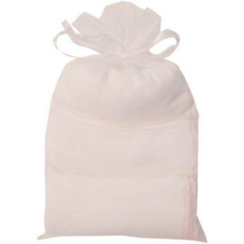 Belmama and Cherub Wash Cloth, Petal Pink Trim, Set of 3