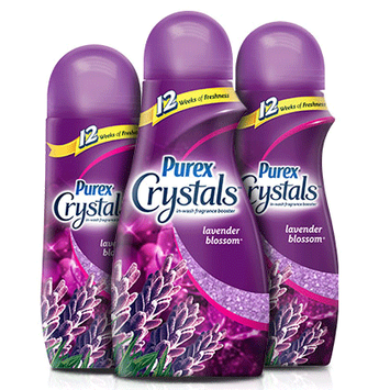 Purex® Crystals Lavender Blossom In-Wash Fragrance Booster