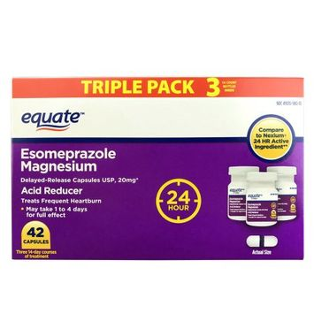 Aurohealth Llc Equate Esomeprazole Magnesium Capsules, 42 Count