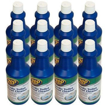 Zep Commercial Acidic Toilet Bowl Cleaner, 32 Ounce (Case of 12)