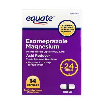 Aurohealth Llc Equate Esomeprazole Magnesium Capsules, 14 Count