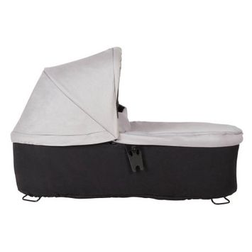 Mountain Buggy Duet Carrycot Plus 2017 to Fit Duet in Silver