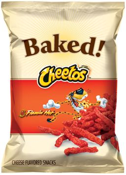CHEETOS® Baked Flamin' Hot® Cheese Flavored Snacks