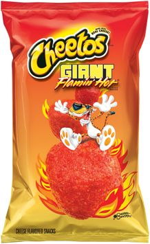 Cheetos® Giant Flamin' Hot® Cheese Flavored Snacks