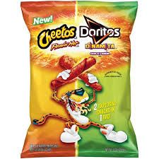 CHEETOS® Crunchy FLAMIN' Hot® Cheese Flavored Sancks & DORITTOS® DINAMITA® Chile Limon Flavored Rolled Tortilla Chips