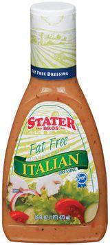 Stater bros Italian Fat Free Dressing