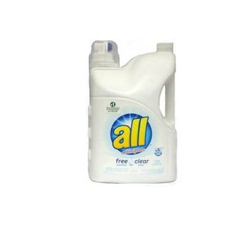 All With Stainlifters Free and Clear Liquid Laundry Detergent