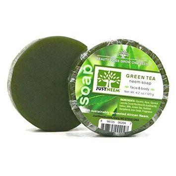 Neem Soap - Green Tea - 4.2 oz