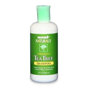 Hobe Naturals Tea Tree Shampoo, 10 Ounce