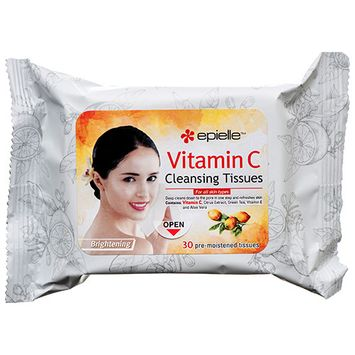 376810 Epielle Cleansing Tissues W / Vitamin C Brightening 30 Ct (24-Pack) Beauty Supplies Cheap Wholesale Discount Bulk Health & Beauty Beauty Supplies Fashion Accessories