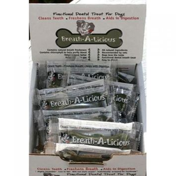 Dancing Paws Breath-a-Licious for Medium Dogs Case of 24 1.43 oz