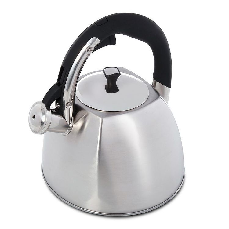 Mr. Coffee Belgrove 2.5-qt. Brushed Stainless Steel Teakettle, Multicolor