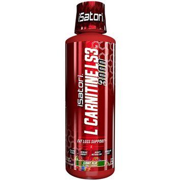 Isatori Sports Nutrition L Carnitine LS3 3000 Gummy Bear 16 Fluid Ounces Liquid GUMMY BEAR