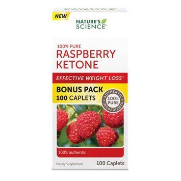 Wellnx Nature's Science Raspberry Ketone Caplet, 100 Ct