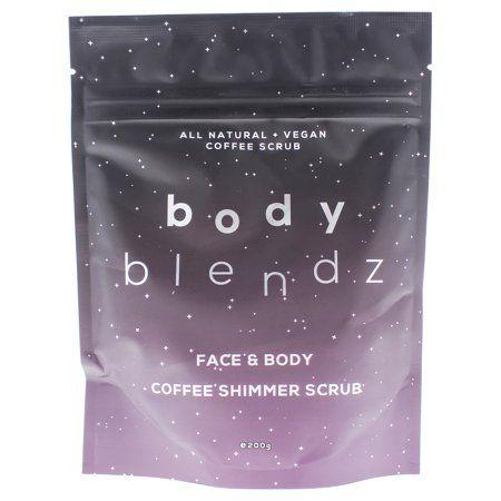 Coffee Shimmer Scrub by BodyBlendz for Women - 7 oz Scrub