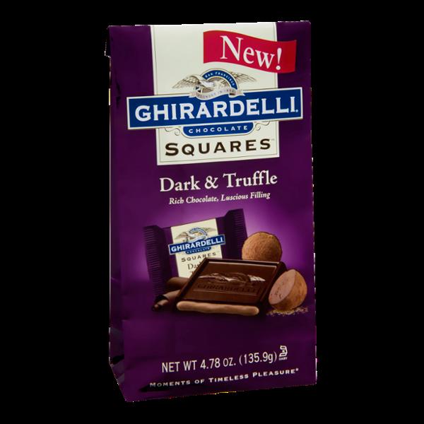 Ghirardelli Squares Dark & Truffle Chocolate