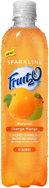 Fruit2O® Natural Orange Mango Flavored Sparkling Water Beverage