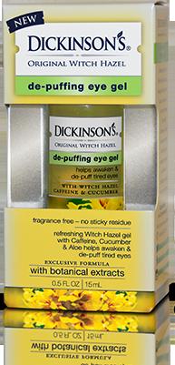 Dickinson's Original Witch Hazel De-Puffing Eye Gel