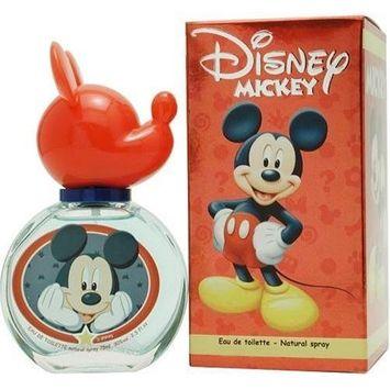 Mickey Mouse By Disney For Men. Eau De Toilette Spray 2.5 OZ