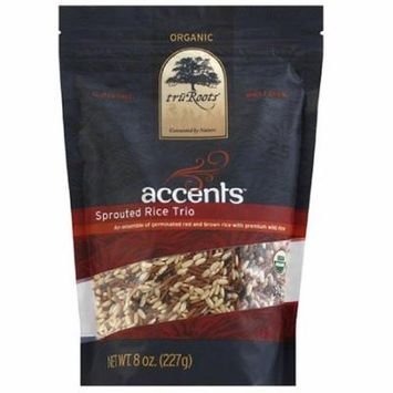 TruRoots Organic Accents Sprouted Rice Trio, 8 oz, (Pack of 6)